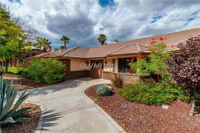 Las Vegas Single Family Home For Sale: 2201 Monte Cristo Way