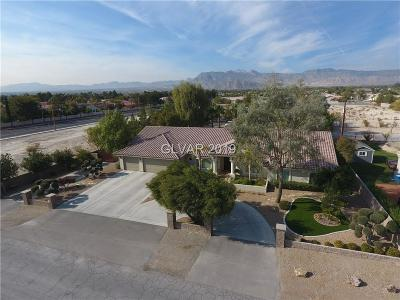Las Vegas Single Family Home For Sale: 4825 North Pioneer Way