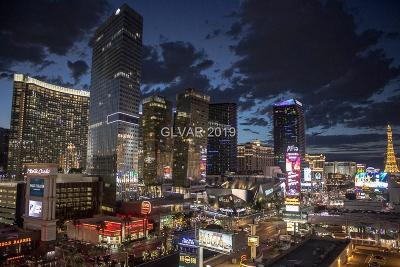 Resort Condo At Luxury Buildin High Rise For Sale: 3750 Las Vegas Boulevard #4104