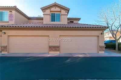North Las Vegas Condo/Townhouse Under Contract - No Show: 4725 Basilicata Lane #104