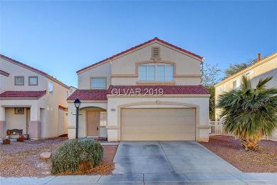 North Las Vegas Single Family Home Under Contract - No Show: 6641 Maple Mesa Street