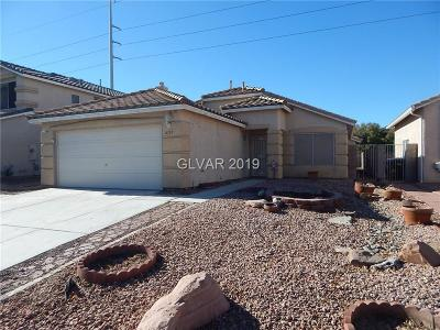 North Las Vegas Single Family Home For Sale: 4313 Wickford Drive