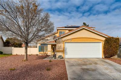 Las Vegas Single Family Home Under Contract - No Show: 498 Lennox Drive