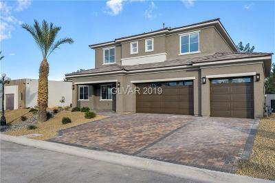 Las Vegas Single Family Home For Sale: 3766 Gershon Court
