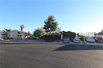 Blue Diamond, Boulder City, Henderson, Las Vegas, North Las Vegas, Pahrump Single Family Home For Sale: 5709 Cannon Boulevard