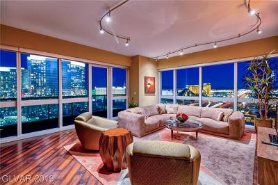 Las Vegas High Rise For Sale: 4471 Dean Martin Drive #2709