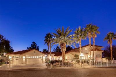 Las Vegas Single Family Home For Sale: 6195 Darby Avenue