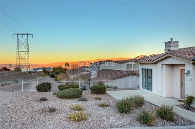 Boulder City Condo/Townhouse For Sale: 246 Big Horn Drive