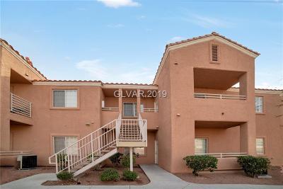 NORTH LAS VEGAS Condo/Townhouse For Sale: 3318 Decatur Boulevard #2146
