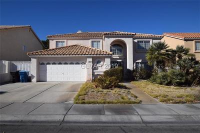 Blue Diamond, Boulder City, Henderson, Las Vegas, North Las Vegas, Pahrump Single Family Home For Sale: 2205 Harbor Cliff Drive