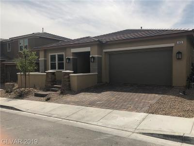Las Vegas Single Family Home For Sale: 865 Haven Oaks Place