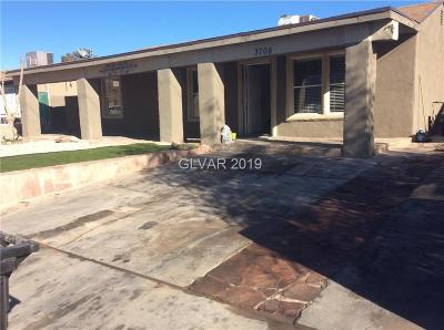North Las Vegas Single Family Home For Sale: 3708 Berg Street