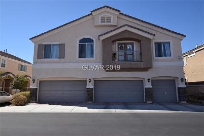 NORTH LAS VEGAS Condo/Townhouse For Sale: 3217 Orange Orchid Place #1