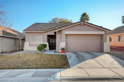 Las Vegas Single Family Home Under Contract - No Show: 8133 Shady Glen Avenue