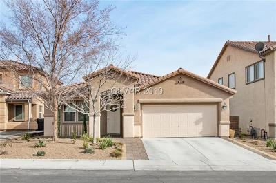 North Las Vegas Single Family Home Under Contract - No Show: 6628 Sea Swallow Street