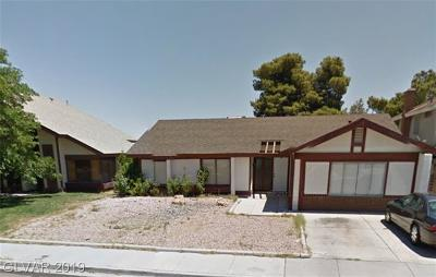 Las Vegas Single Family Home For Sale: 4200 Butterfield Way