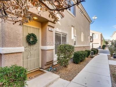 las vegas Condo/Townhouse Under Contract - No Show: 8667 Tom Noon Avenue #103