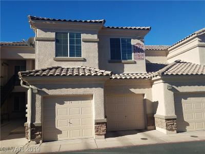NORTH LAS VEGAS Condo/Townhouse For Sale: 4705 Apulia Drive #203