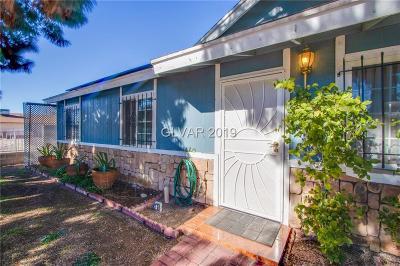 Las Vegas Single Family Home For Sale: 4960 Nevada Avenue