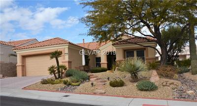Las Vegas Single Family Home For Sale: 10816 Dover Creek Avenue