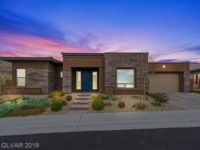 Las Vegas Single Family Home For Sale: 6849 Mojave Sage Court