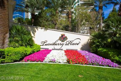 Turnberry Place Amd, Turnberry Place Phase 2, Turnberry Place Phase 3 Amd, Turnberry Place Phase 4 High Rise For Sale: 2747 Paradise Road #1806
