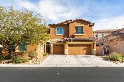Las Vegas NV Single Family Home For Sale: $492,000
