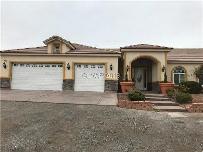 North Las Vegas Single Family Home For Sale: 3415 Coleman Street
