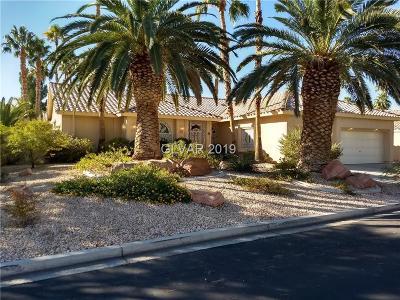 Las Vegas, North Las Vegas, Henderson Single Family Home For Sale: 3697 Darren Thornton Way
