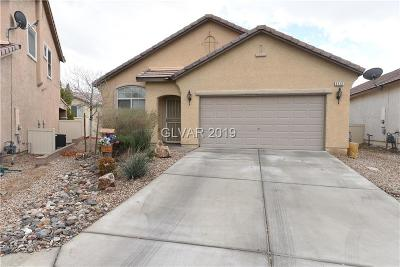 North Las Vegas Single Family Home For Sale: 5112 Clarks Cove Drive