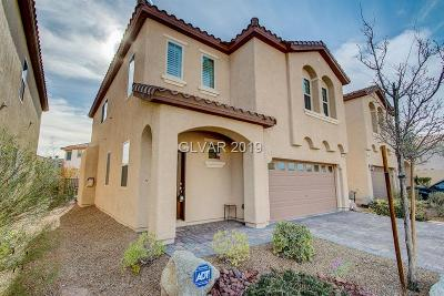 Las Vegas Single Family Home For Sale: 129 Forest Crossing Court