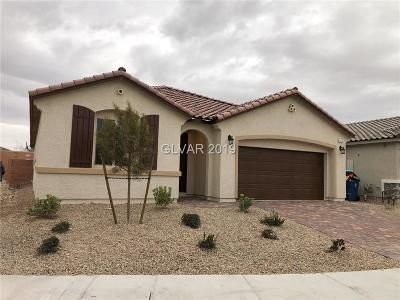 North Las Vegas Single Family Home For Sale: 4024 Lorikeet Drive
