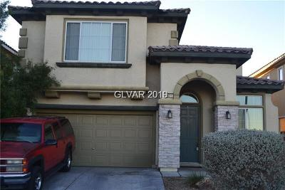 North Las Vegas Single Family Home For Sale: 2621 Concord Street