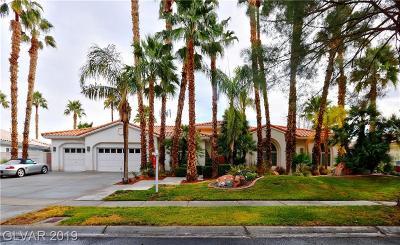 Las Vegas Single Family Home For Sale: 3987 Placita Del Lazo