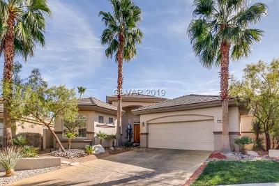 Single Family Home For Sale: 536 Summer Mesa Drive