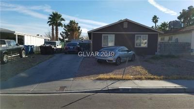 North Las Vegas Single Family Home For Sale: 3619 Bartlett Avenue