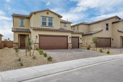 North Las Vegas Single Family Home For Sale: 115 Scarlett View Avenue #lot 88