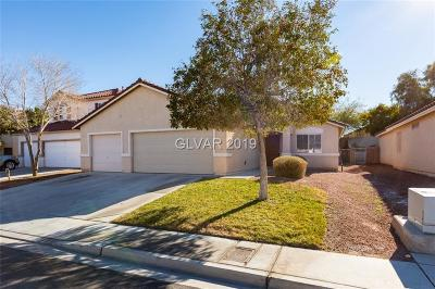 North Las Vegas Single Family Home For Sale: 1011 Felix Palm Avenue