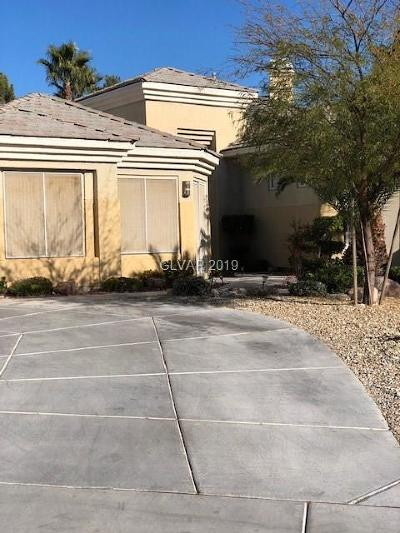 Las Vegas Single Family Home For Sale: 308 Terrace View Court