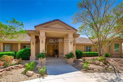 Las Vegas NV Single Family Home For Sale: $1,195,000
