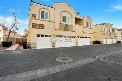 North Las Vegas Condo/Townhouse For Sale: 4037 Pepper Thorn Avenue #201