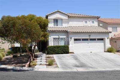 North Las Vegas Single Family Home For Sale: 724 Heritage Cliff Avenue
