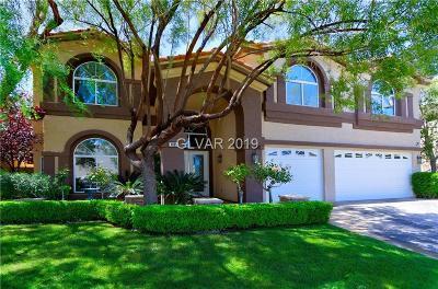 Seven Hills Single Family Home For Sale: 1385 Via Savona Drive