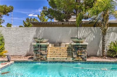 Las Vegas Single Family Home For Sale: 4458 Zev Court