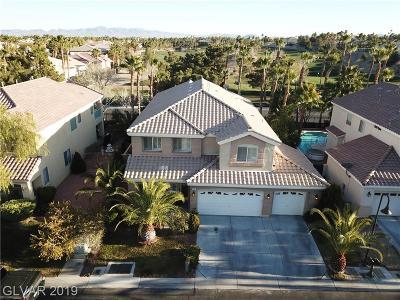 Las Vegas, North Las Vegas, Henderson Single Family Home For Sale: 10 Cobbs Creek Way