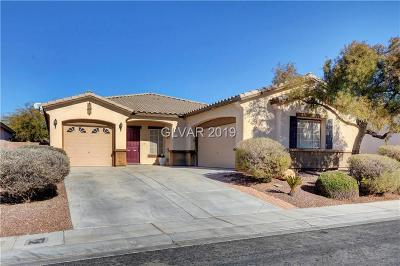 North Las Vegas Single Family Home For Sale: 1412 Sagebrush Ranch Way