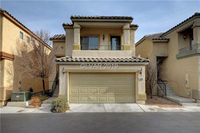 Clark County Single Family Home For Sale: 7808 Winding Sand Court