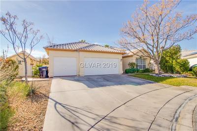 North Las Vegas Single Family Home Under Contract - Show: 4339 Arrowridge Circle