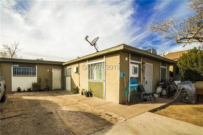 las vegas Multi Family Home For Sale: 2513 Arrowhead Street