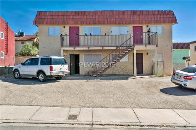 las vegas Multi Family Home For Sale: 6937 Issac Avenue